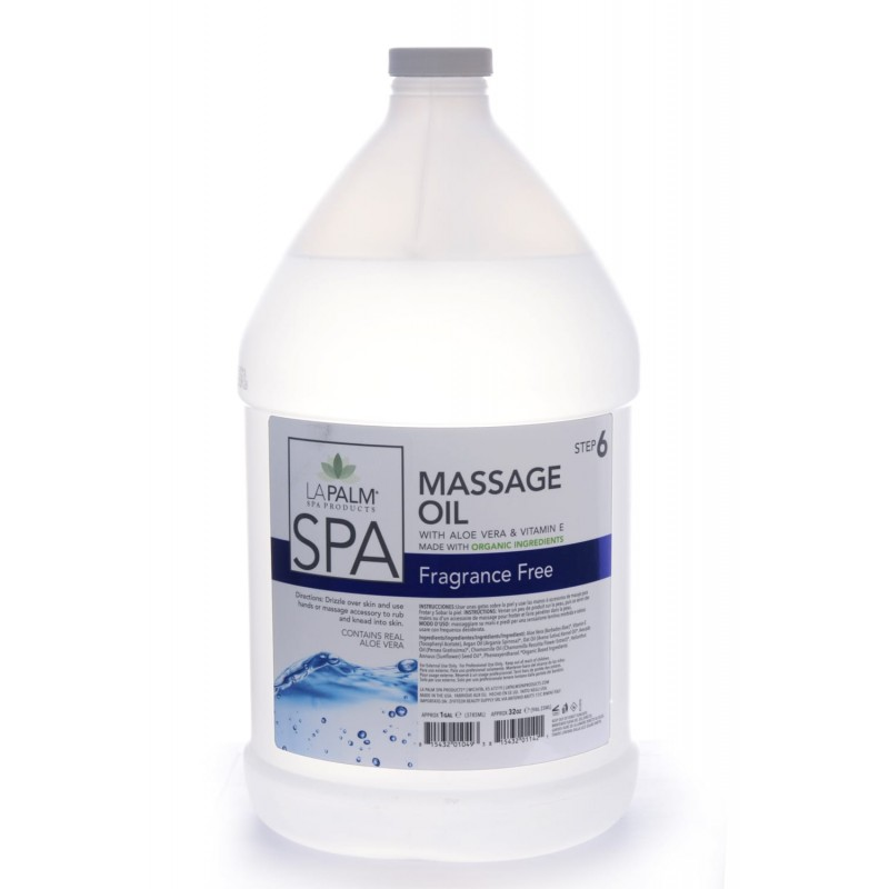 LA PALM MASSAGE OIL...