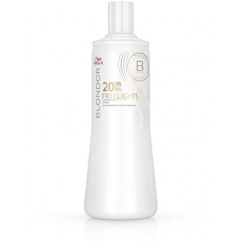 WELLA BLONDOR 6% 20VOL FREE...