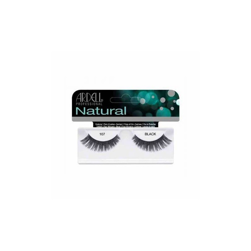 ARDELL NATURAL LASHES BLACK...