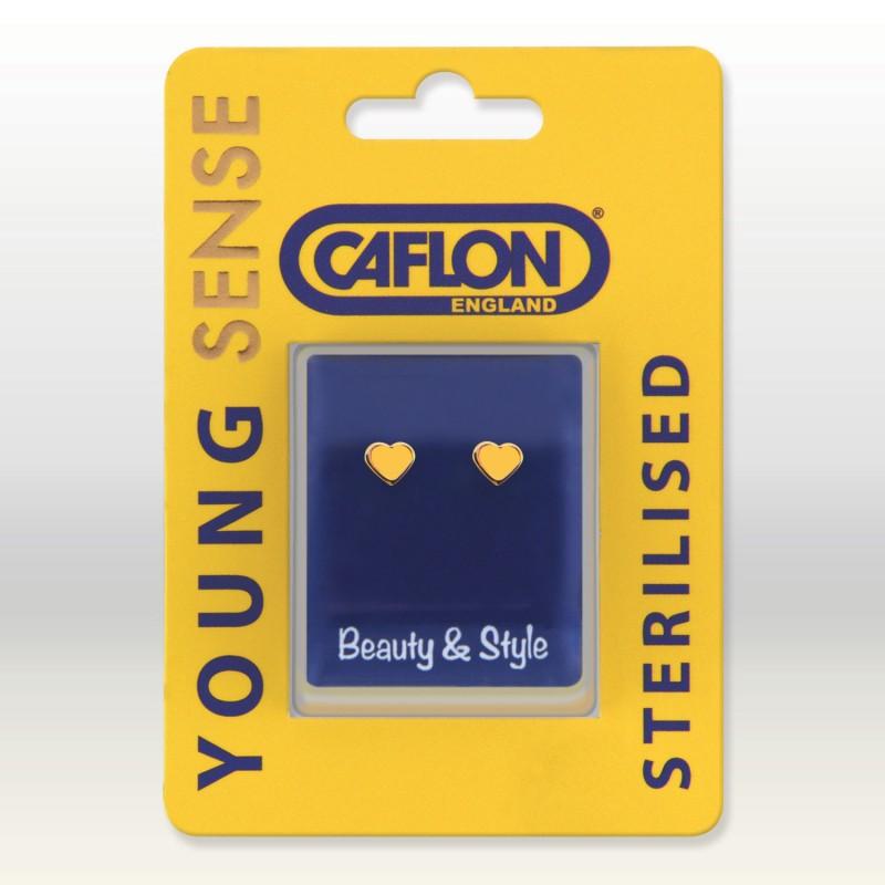 CAFLON GP HEART 6 MM YELLOW