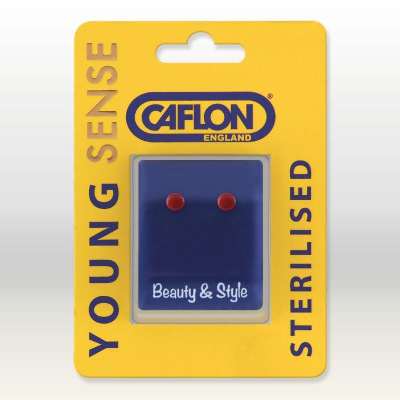 CAFLON GP SMALL BUTTON - RED
