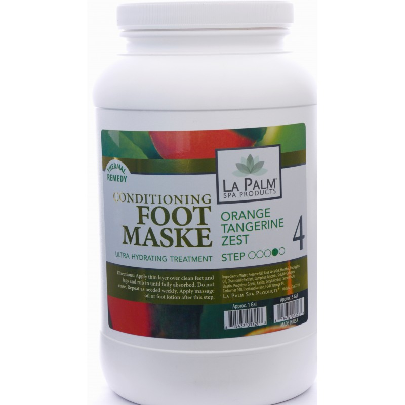 LA PALM FOOT MASK ORANGE...
