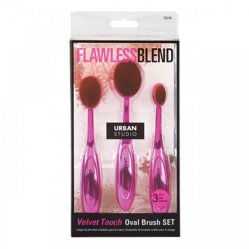 CALA OVAL FACIAL BRUSH SET...