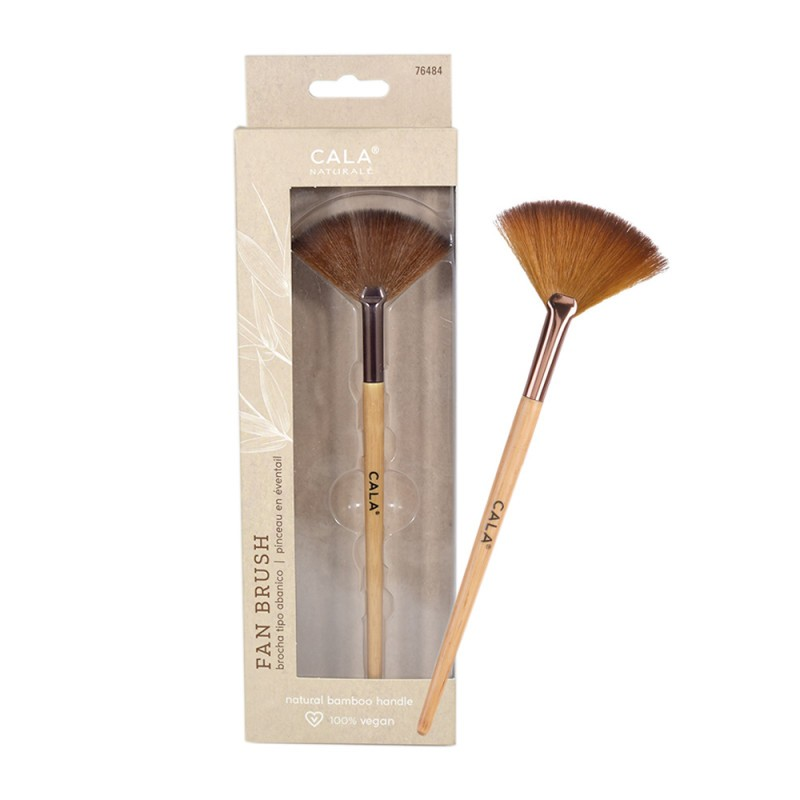 CALA BAMBOO FAN BRUSH...