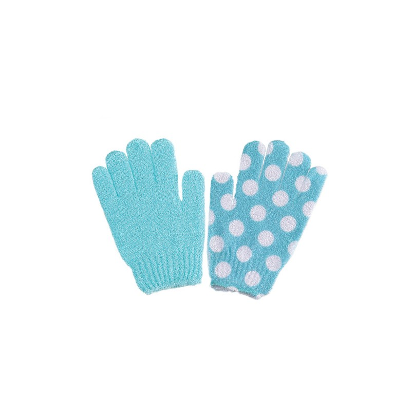 CALA SPA GLOVES 2 PAIR AQUA